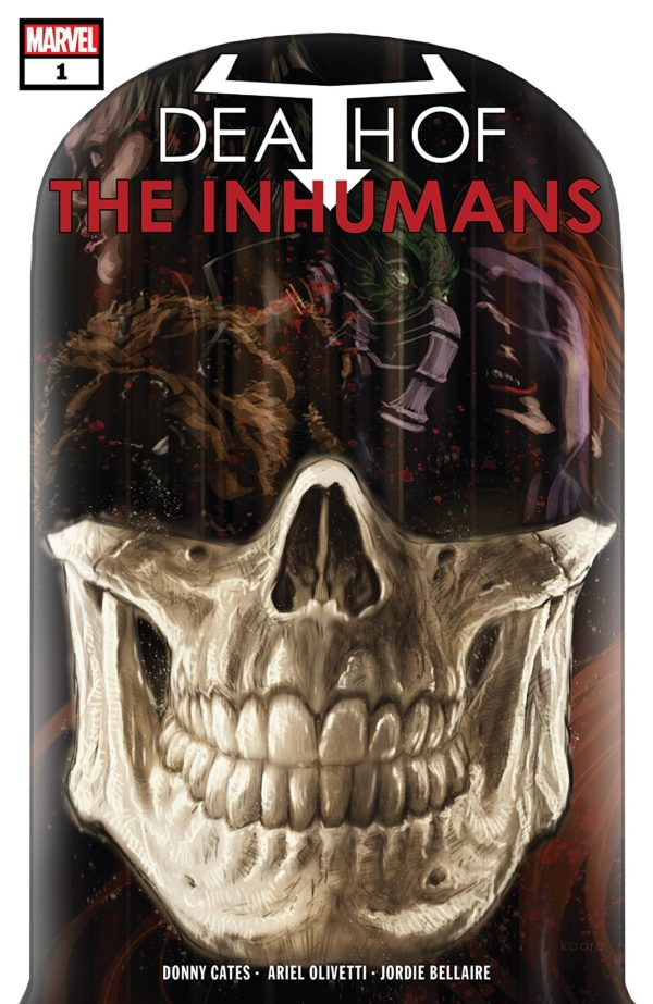 Death of the Inhumans #1 cover by Kaare Andrews