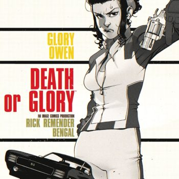 Death or Glory #3 cover by Bengal