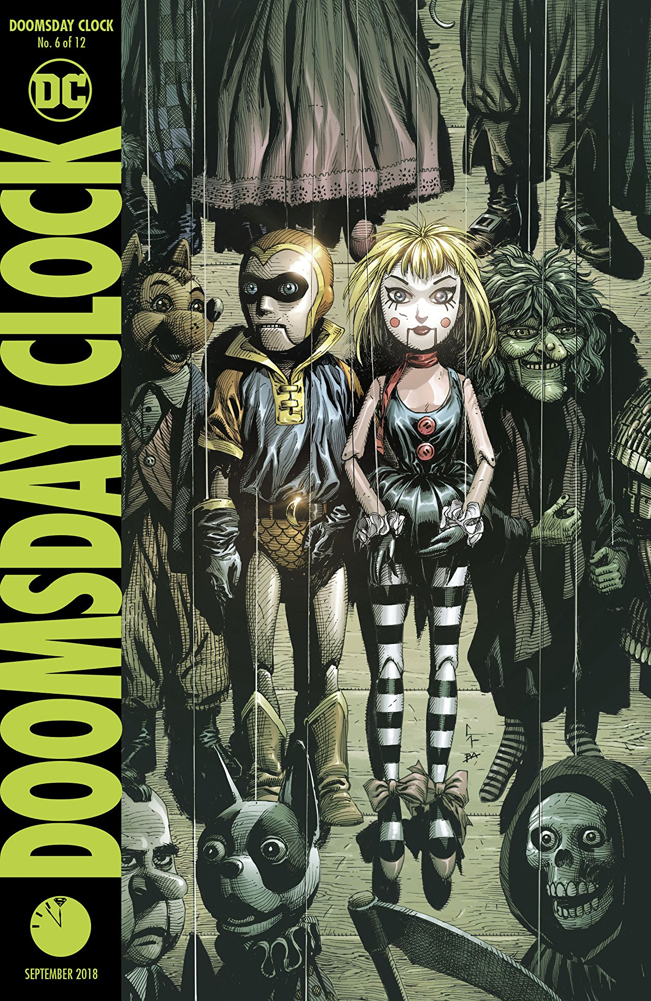 Doomsday Clock 6 Review The Best Issue So Far