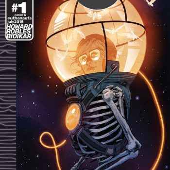 Euthanauts #1 cover by Nick Robles