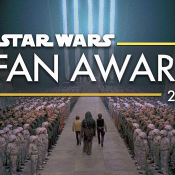 Star Wars fan awards banner