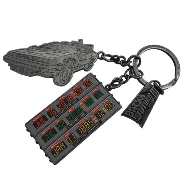 Factory Entertainment Back to the Future Keychain SDCC Exclusive