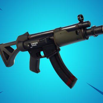Fortnite submachine gun