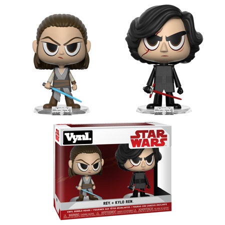 Funko Star Wars Vynl Rey and Kylo Pack