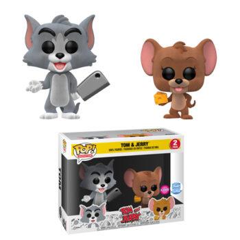Funko Tom and Jerry Flocked Pop Set Funko Shop