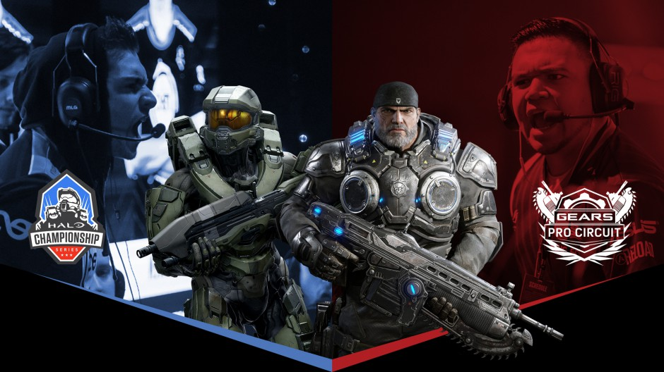 The Halo Championship and Gears Pro Circuit are Teaming Up