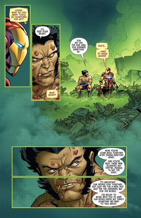 Hunt for Wolverine: Adamantium Agenda #3 art by R.B. Silva, Adriano di Benedetto, and Guru-eFX