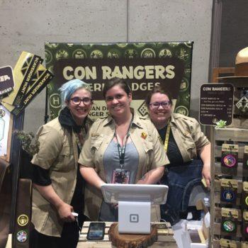 con rangers sdcc 2018
