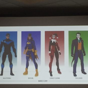 dc collectibles at sdcc 2018