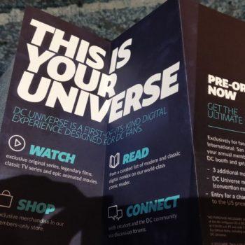 dc universe Titans sdcc 2018