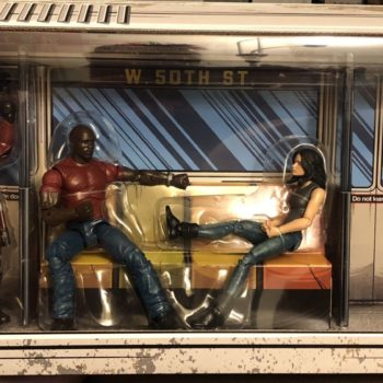 Marvel Legends SDCC Exclusive Defenders Rail Authority Set 1