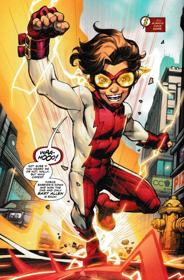 flash #50 bart allen