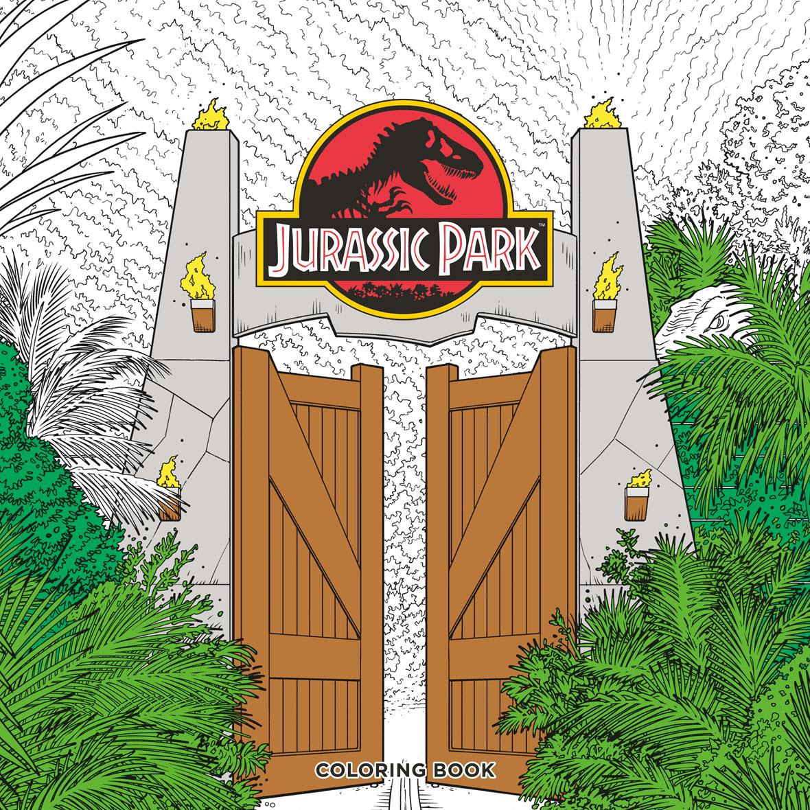 Dark Horse To Publish Jurassic Park And Jurassic World Coloring