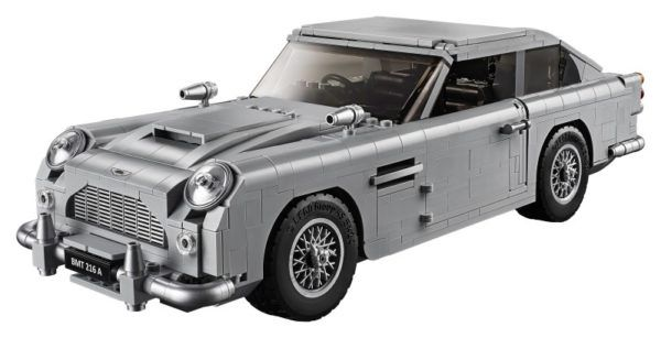 LEGO Creator James Bond Aston Martin 4