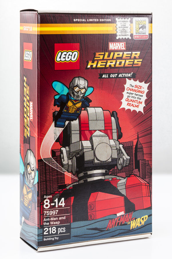 Ant-Man and Wasp LEGO SDCC Exclusive 2