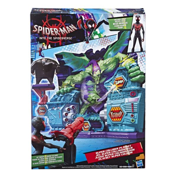 MARVEL SPIDER-MAN INTO THE SPIDER-VERSE SUPER COLLIDER Playset - in pkg