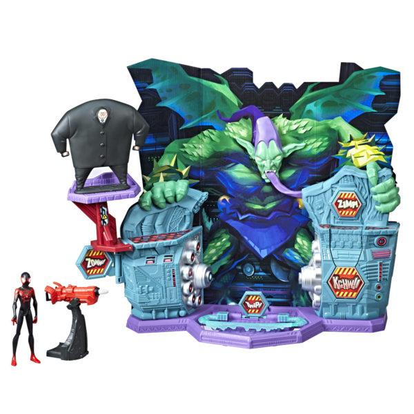 MARVEL SPIDER-MAN INTO THE SPIDER-VERSE SUPER COLLIDER Playset - oop