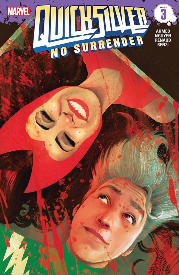 Quicksilver: No Surrender #3 cover by Martin Simmonds