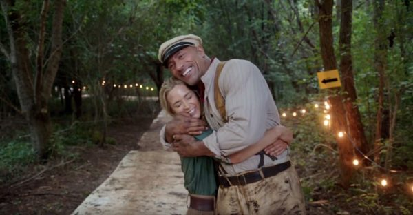 Disneys Jungle Cruise Shares Video Of Emily Blunt Dwayne The