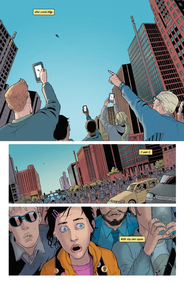 She Could Fly #1 art by Martin Morazzo and Miroslav Mrva