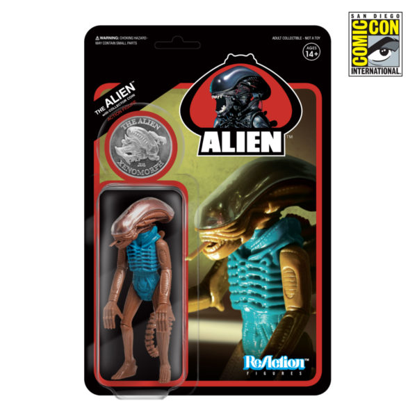 Super7 Alien ReAction Figure Hammerhead Tribute Figure