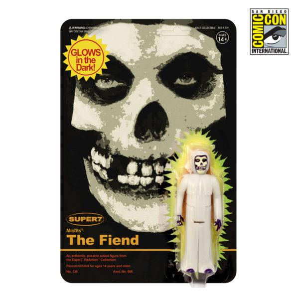 Super7 Misfits ReAction Figure Glow SDCC Exclusive