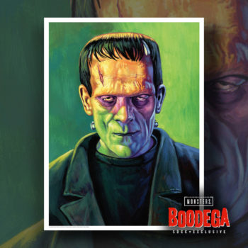 Super7 Universal Monsters Bodega SDCC Ed Repka Prints Frankenstien