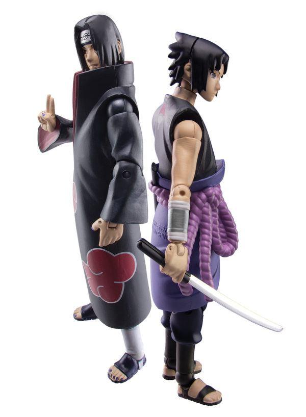 Toynami SDCC Exclusive Naruto Shippuden Exclusive Two-Pack Set- Sasuke vs. Itachi