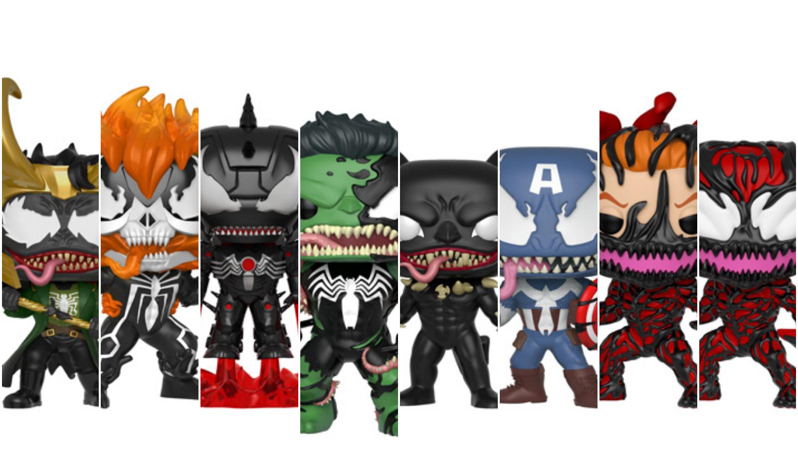 Venom Funko Pop Collage