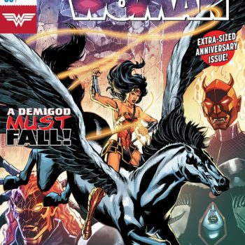 Wonder Woman #50 cover by Jesus Merino and Romulo Fajardo Jr.