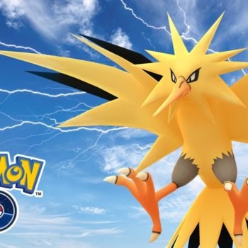 Pokémon GO Zapdos Day art