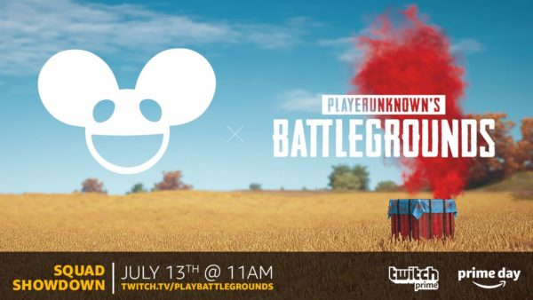 PUBG and deadmau5 Getting Together for a Twitch Prime Event