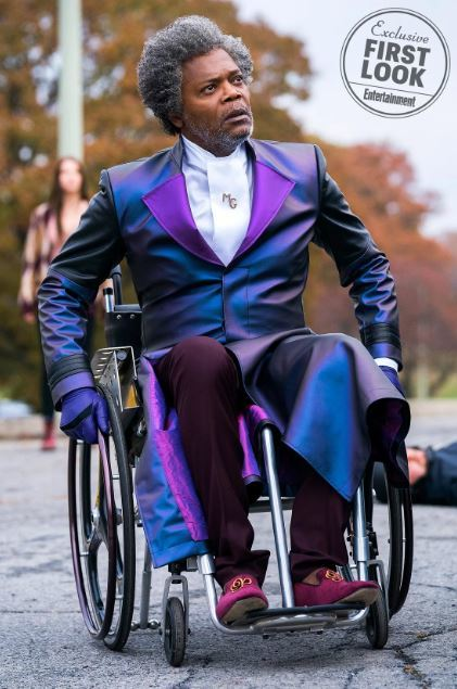 glass first look images shyamalan