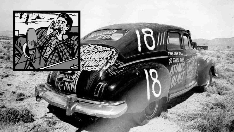Marvel Declassified 1 This Car Will Go Through The Atomic Blast Bleeding Cool
