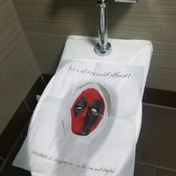 deadpool toilet seat cover sdcc 2018