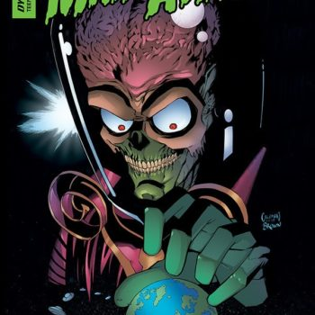 Mars Attacks comic