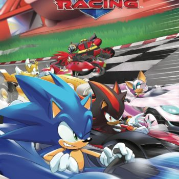 Team Sonic Racing comic