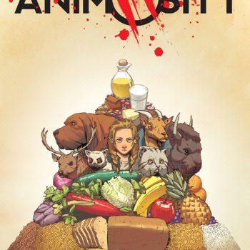 Animosity #15 cover by Rafael de la Torre and Marcelo Maiolo