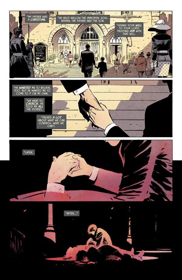 Batman #53 art by Lee Weeks and Elizabeth Breitweiser