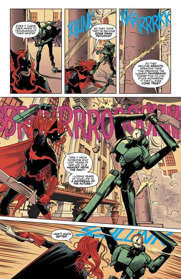 Batwoman #18 art by Fernando Blanco and John Rauch