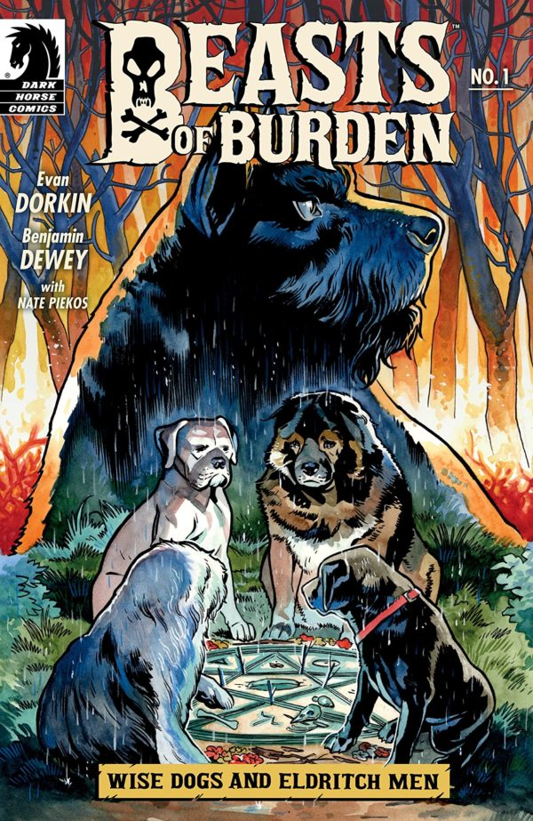 Beasts of Burden: Wise Dogs and Eldritch Men #1 cover by Benjamin Dewey
