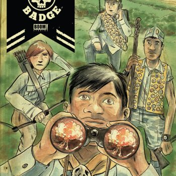 Black Badge #1 cover by Matt Kindt