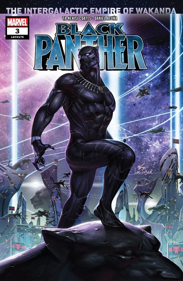 Black Panther #3 cover by In-Hyuk Lee