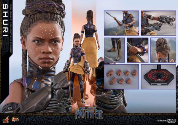 Black Panther Shuri Hot Toys 16