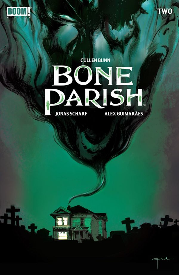 Bone Parish #2 cover by Lee Garbett
