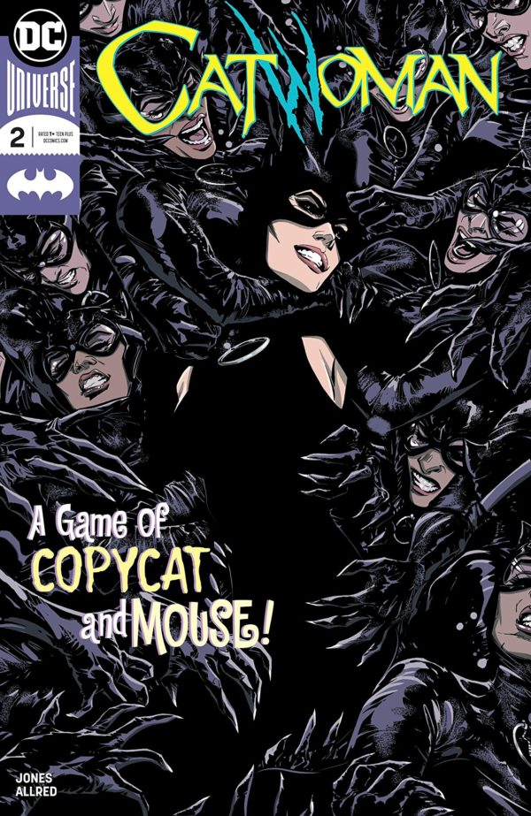 Catwoman #2 cover by Joelle Jones and Laura Allred