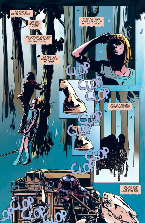 Clankillers #2 art by Antonio Fuso and Stefano Simeone