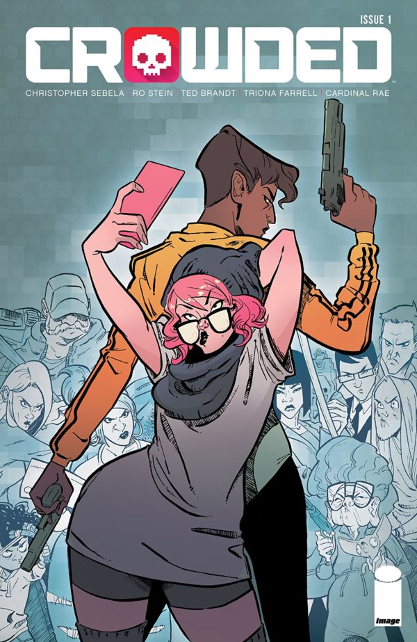 Crowded #1 cover by Ro Stein and Ted Brandt