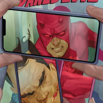 Daredevil #606 cover by Phil Noto
