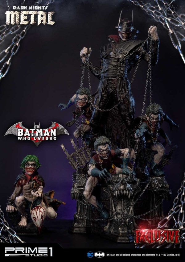 Dark Knights Metal Batman Who Laughs Prime 1 Studio Statue Exclusive 1